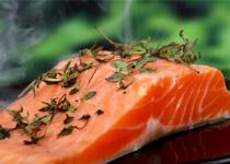Postup při pečení lososa